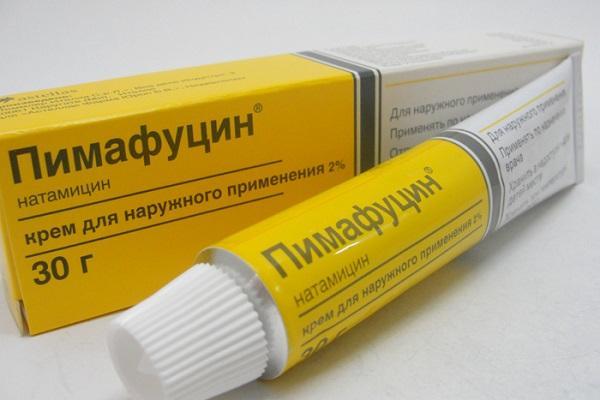 Крем Пимафуцин применяемый при молочнице