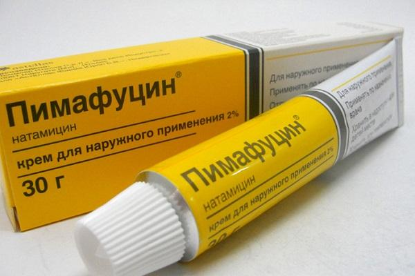 Мазь против молочницы Пимафуцин