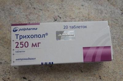 Трихопол при молочнице у женщин способ применения