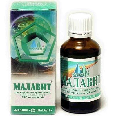 Малавит при молочнице